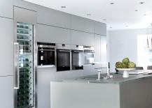 Fabulous kitchen island combines ergonomics with practicality