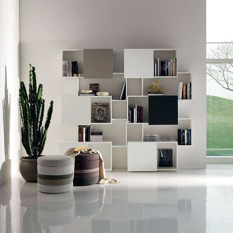 Find that perfect balance between aesthetics and functionality with Piquant Bookshelf