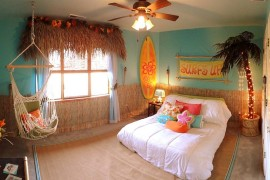 20 Kids' Bedrooms That Usher in a Fun Tropical Twist!