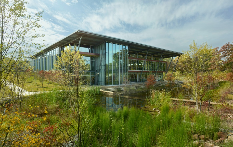 This library looks as sustainable as it is