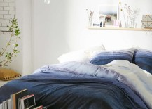 Indigo bedding from Urban Outfitters