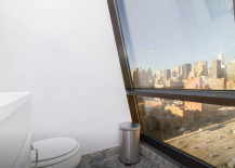 Kips Bay Penthouse Bathroom with views of Empire State Building