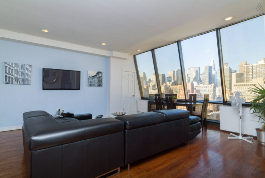 View In Gallery Kips Bay Penthouse With Views Of Empire State Building