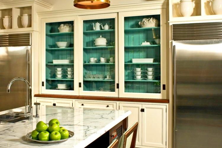 Kitchen-Cabinet-green