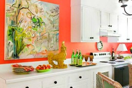 Kitchen-large-art  7 Affordable Hacks to Make Your Kitchen Look Expensive Kitchen large art 270x180