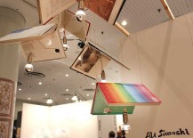 Lamps Made out of real books