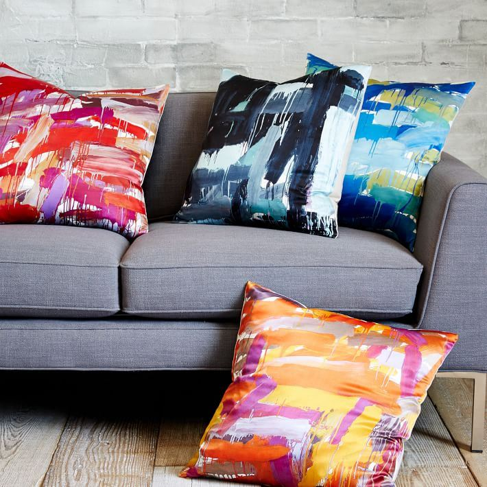 Leah Durner Pillow Covers from West Elm