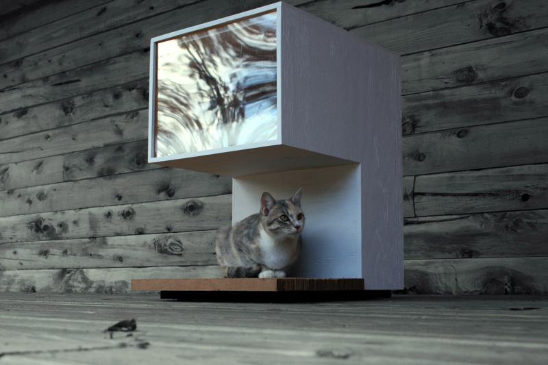 Leo Kempf Modern Cat House