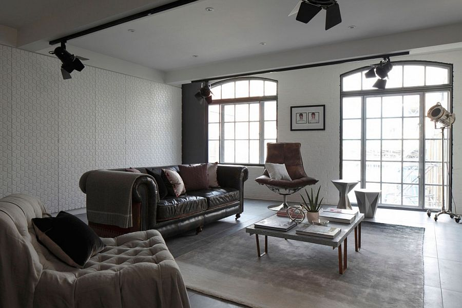 furniture for loft. View In Gallery Living Area Of The Chic Soho Apartment London Furniture For Loft O