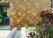 London-Residence-Outdoor-Area-with-Folded-Metal-Leaves-Facade-217x155