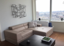 Long Island City Penthouse Living Room