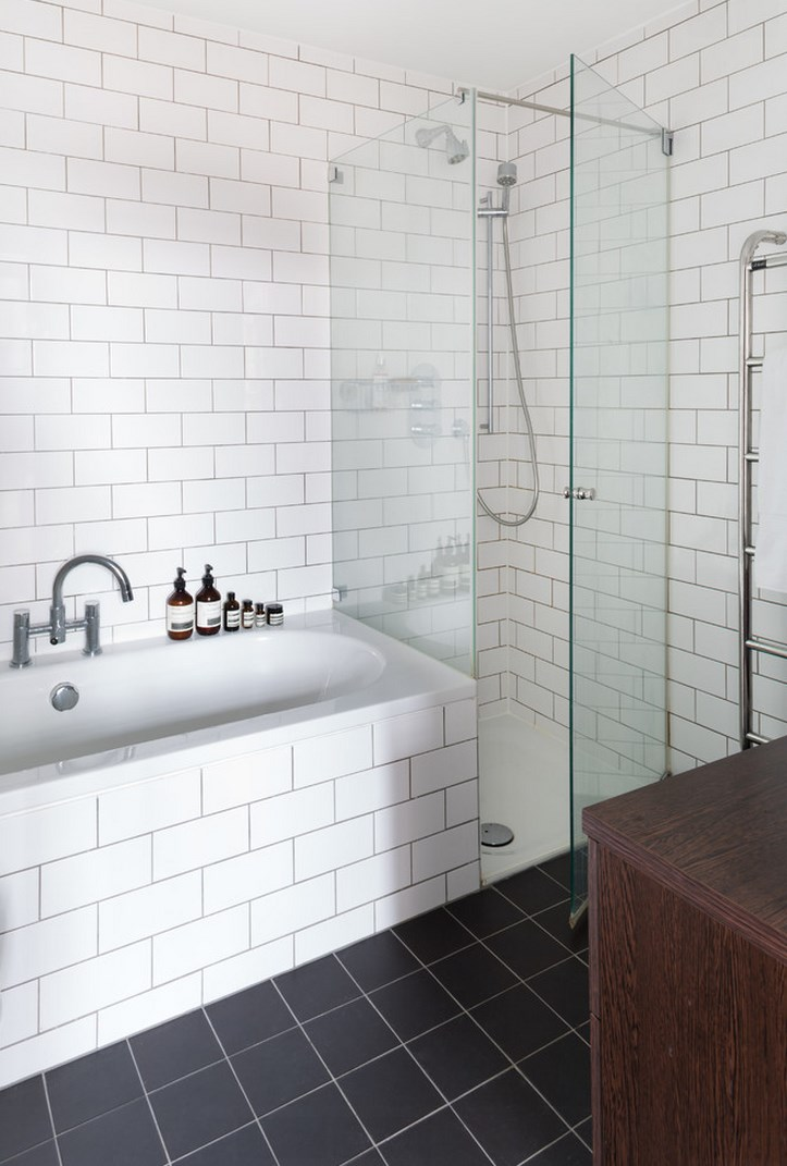 Lovely bath products add elegance to the modern powder room
