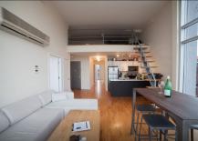 Lower East Side Penthouse Loft Area