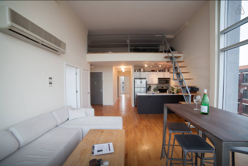 8 swanky airbnb penthouses you can rent for the night in for New york loft apartments