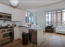 Midtown Manhattan Penthouse Open Kitchen
