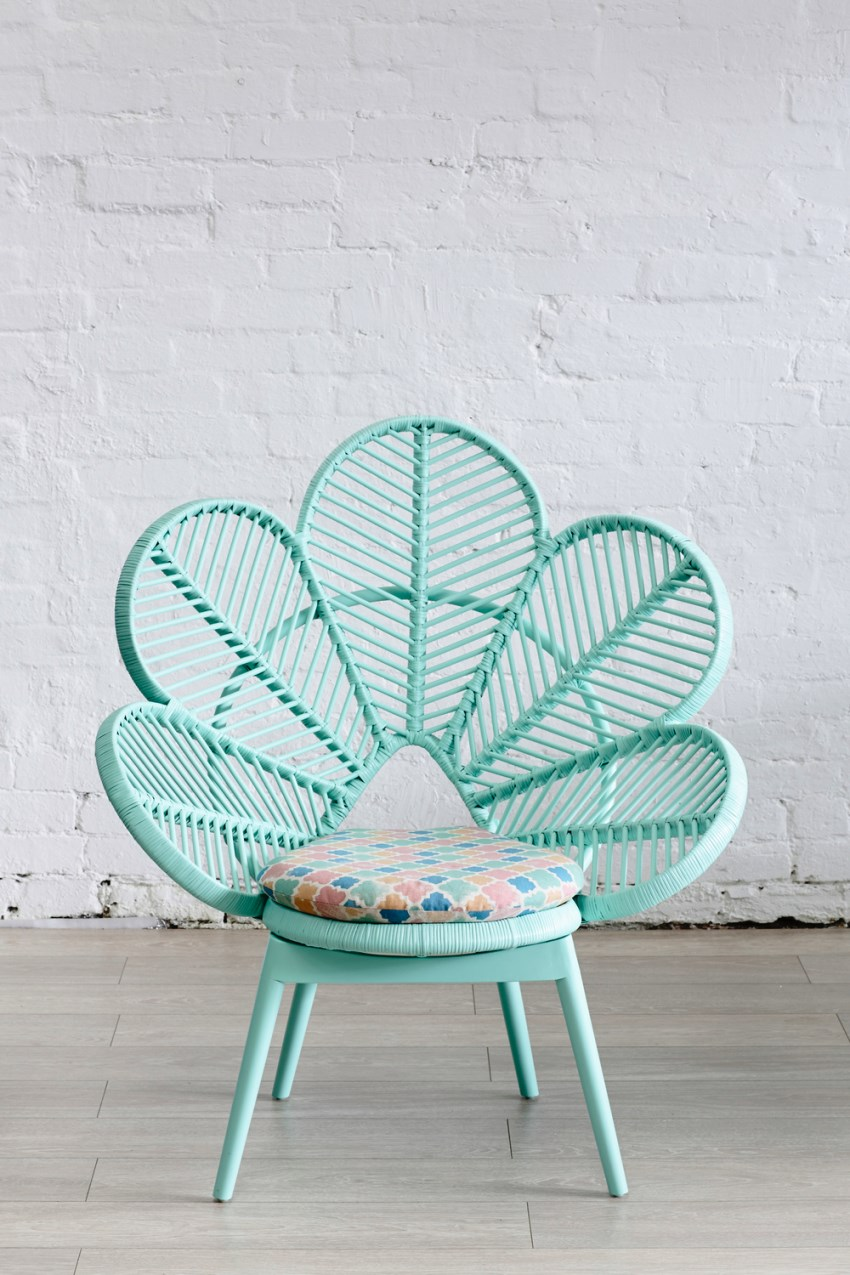 Mint chair by The Family Love Tree