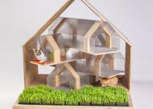 Modern Cat House by HOK