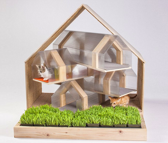 Modern Cat House by HOK 8 Purrfect Cat Houses for Your Favorite Feline Friend