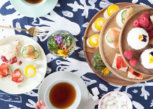 Modern tea party from Oh Happy Day