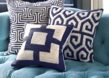 New throw pillows from Jonathan Adler