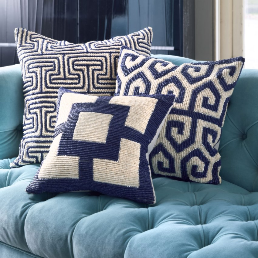 New throw pillows from Jonathan Adler