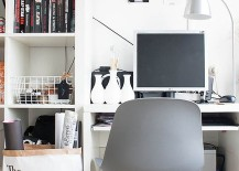 Organize your small home office in style