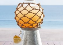 Outdoor drink dispenser from Pottery Barn