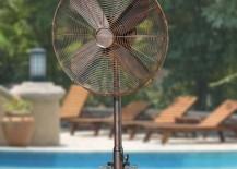 Outdoor fan by Frontgate