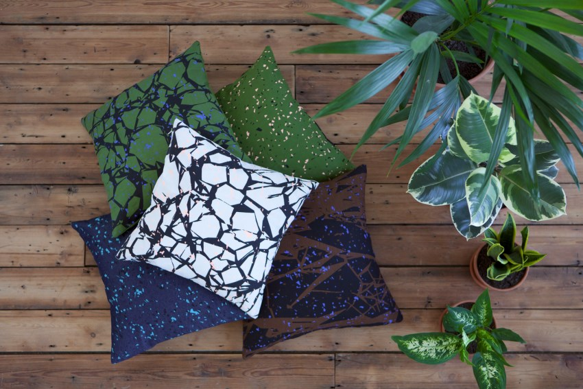 Patterned cushions from Room39