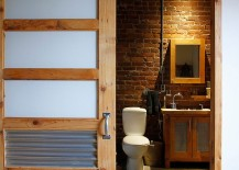 Perfect-door-for-the-industrial-bathroom-with-slavaged-style-217x155