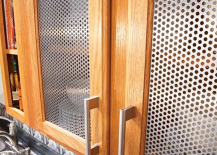 Perforated Steel Kitchen Cabinet Inserts