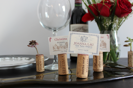 DIY: How to Make Wine-Themed Placecard Holders Out of Recycled Corks