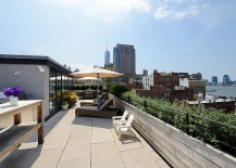 Posh Penthouse with Stunning Rooftop Patio Freedom Tower