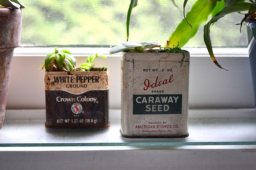 Put those old tin cans to good use [From: Colleen Brett]