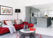 Bright Accents and Classy Ambiance Define Redesigned Family Home