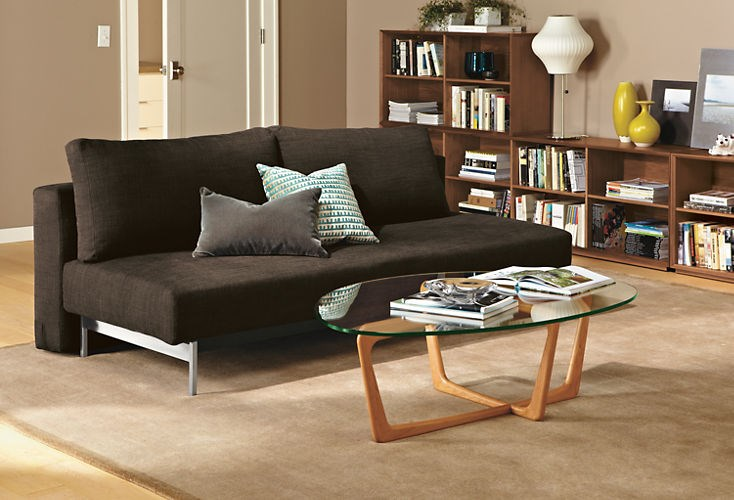 Sleek sleeper sofa from Room & Board
