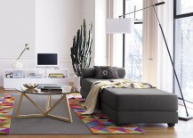 Sleeper daybed from CB2 217x155 The Best Sofas for Small Spaces