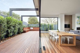 Classy Modern Renovation Transforms Brick Federation House in Melbourne