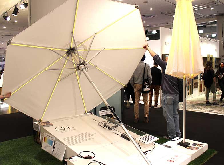 Slik Living LED Parasol
