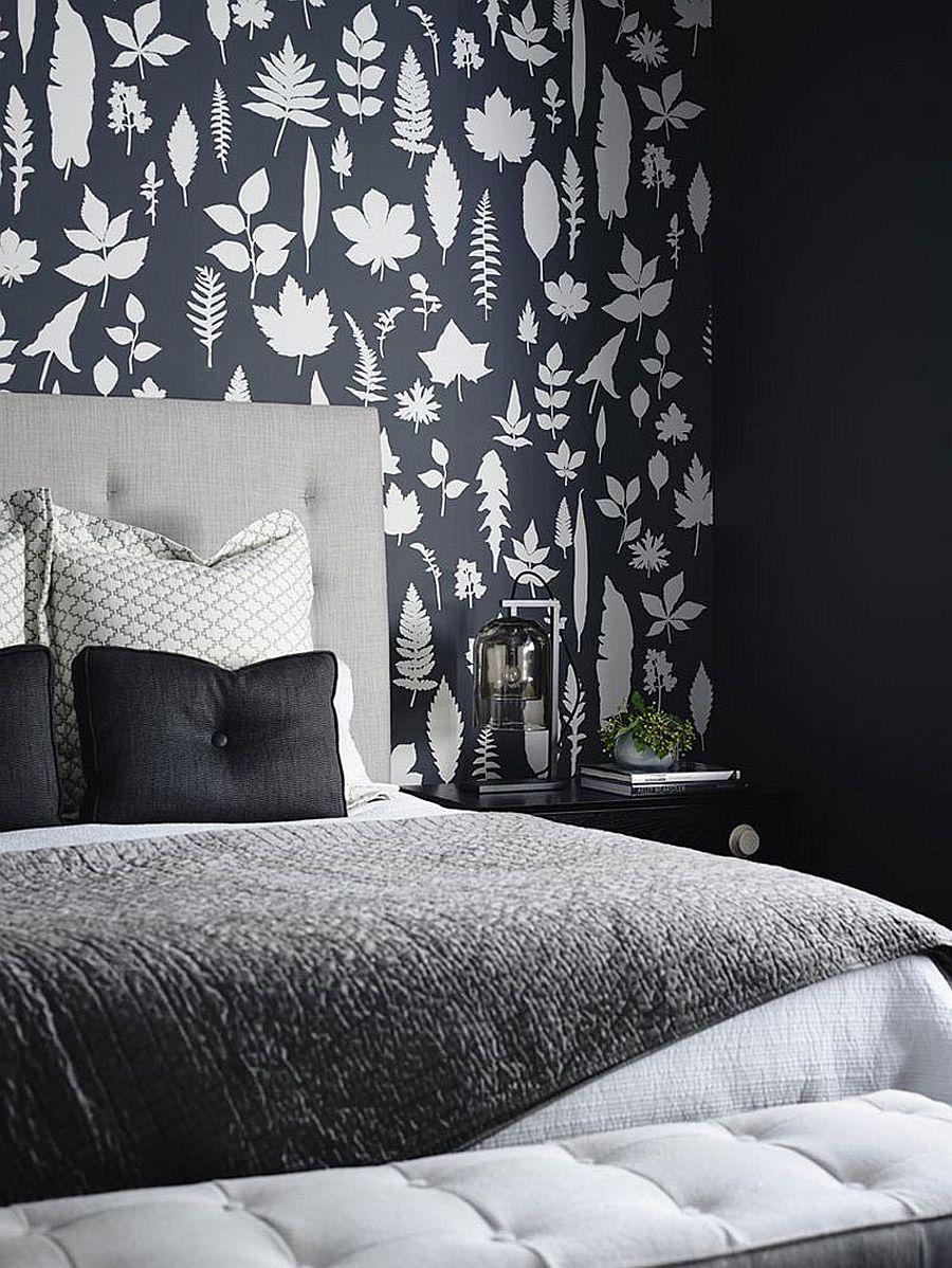 Small bedroom design with monochromatic color scheme