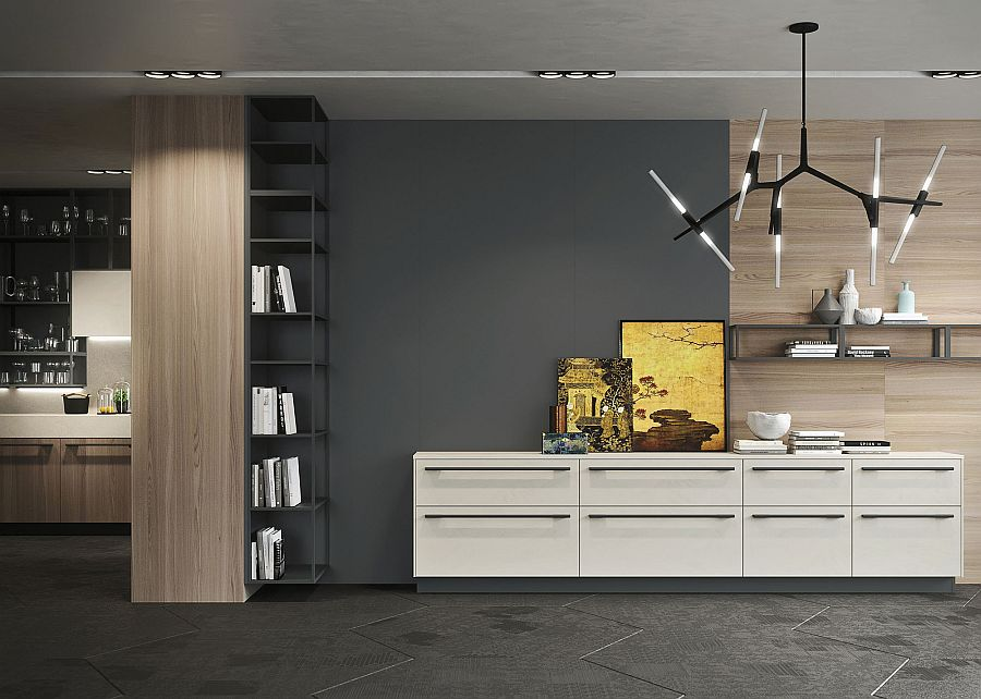Smart Opera kitchen blurs the line between the living and kitchen area