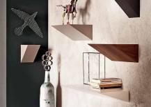 Snazzy Pendola bookshelf units by Fabio Bortolami for Cattelan Italia