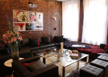 Soho Mercer Street Penthouse Open Living Room