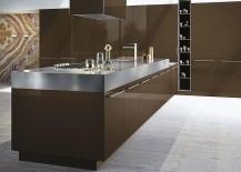 Stylish modern Italian kitchen with modular adaptability