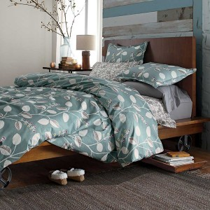 The Company Store Organic Bedding in Blue