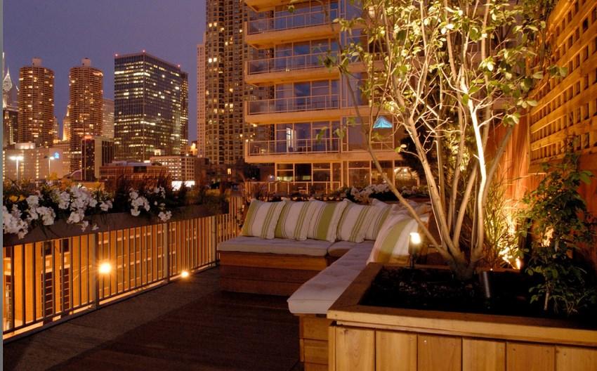 Backyard Getaways With Landscape Lighting - Backyard landscape lighting