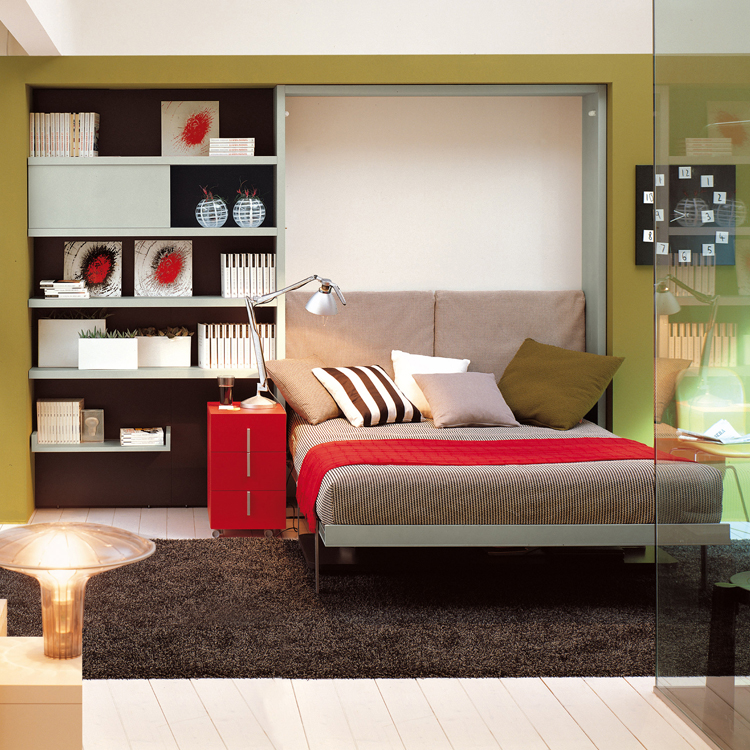 8 versatile murphy beds that turn any room into a spare Bedroom office combo furniture