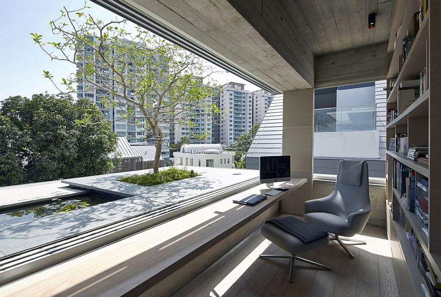 captivating chiltern house in singapore by wow architects