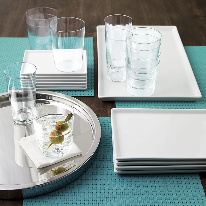 Weather-proof placemats from CB2
