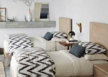 West Elm Organic Cotton Sheets Ikat Pattern